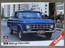 1981 Chevrolet A10 Pick-up (Pickup) original Brazilian sales brochure