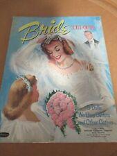 Vintage Paper Dolls~Whitman Bride Cut Outs~Dolls & Clothes