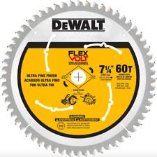 DEWALT 7-1/4 inch 60 Teeth Circular Saw Blade Carbide Wood Cutting Tool Part New