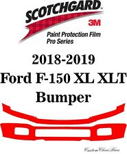 3M Scotchgard Paint Protection Film Pro Series Clear 2018 2019 Ford F-150 XL XLT