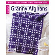 Carol Holding-Square By Square Granny Afghans  BOOK NEW