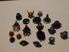 Lego Minifigure Accessories lot of 17 Hats/Helmets/Hair Styles/Egyptian/Ninja+