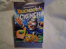 2016 CAP'N CRUNCH'S TOUCHDOWN CRUNCH CEREAL BOX,Empty,football,limited editon,fb