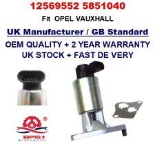 VANNE EGR 12569552 5851040 Pour Vauxhall Opel Astra G, Vectra B/C ZAFIRA A 2.2 16 V