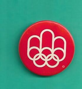 (1) MONTREAL OLYMPIC 1976 VINTAGE  2 INCH PINBACK  (V1958)