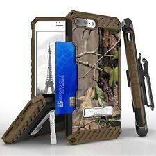 For iPhone 8 Plus,7 Plus Armor Tri Shield Hybrid Protector Clip Case Tree Camo