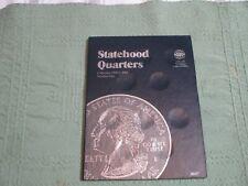 WHITMAN U.S. STATE QUARTERS ALBUM NO.1  1999-2001 P&D BRAND NEW  lot 12-2