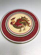 """HD Designs 8"""" Rooster Porcelain Trivet"""
