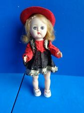 """Vintage 8"""" Ginger Doll Dressed As Cowgirl In Ginny Outf"""