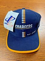 NWT Vintage 90s San Diego Chargers Hat NFL Cap Football Logo Athletic Logo 7 NEW