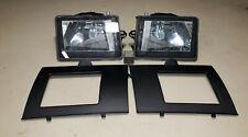BrandNew Set ALFA ROMEO 164 LS L Super Foglight + Cover Frame Plastic Fog Light