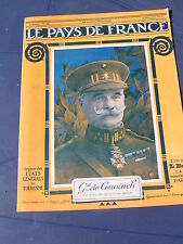 Pays de France 1917 160 SAINT CLéMENT VELDHOEK  CHAVIGNON ALLEMANT VAUDRESSON AN