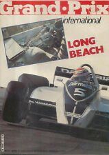 Grand Prix International Long Beach 1980 No. 17 Nelson Piquet Clay Regazzoni +