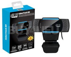 CyberTrack H5, 1080P (2.0 Megapixel), H.264, Auto focus Webcam build in dual MIC