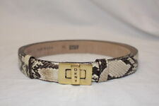 DONNA KAREN-DKNY Genuine Reptile Womens Thin Belt M/L USA-B45