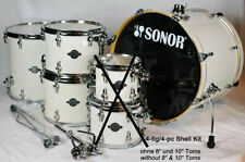 Sonor Essential Force Creme White Drum Kit 4-teilig - SHOWROOM
