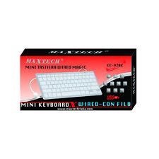 Mini Tastiera con filo keyboard per portatile computer Laptop pc 2.4GHz Maxtech