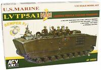 AFV Club 35022 LVTP5-A1 Vietnam US Marines 1:35 Model Kit NIB Free Shipping