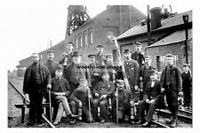 pt4091 - Wath Colliery , Officials and Staff 1893 , Yorkshire - photograph 6x4