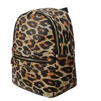 Wild Leopard Print NGIL Faux Leather Mini Backpack Purse Free Shipping! NWT