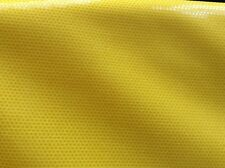 Yellow Lycra with clear shimmer effect fabric remnant (4-way stretch) 527