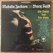 MAHALIA JACKSON - PERCY FAITH - THE POWER AND THE GLORY - LP