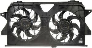 For 2001-2005 Dodge Grand Caravan Auxiliary Fan Assembly Right Dorman 57718WB