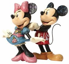 Disney Traditions For My Sweetheart Mickey Minnie Mouse Figurine 14.5cm 4046042