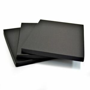 GraphicPro A2 Black Display Print Box Art Gift Storage Presentation 15mm Deep