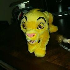 Lion King Plush Simba Disney Parks Authentic NEW WITH TAGS