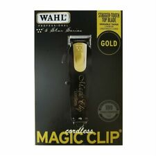 WAHL CORDLESS MAGIC CLIP BLACK & GOLD. WAHL 8148-100 GENUINE *LIMITED EDITION*