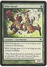 WILD NACATL X1  MAGIC Mtg SHARDS of ALARA  NEAR MINT to LIGHTLY PLAYED (NM-LP)