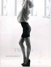 Elle Magazine October 2011 Agyness Deyn EX 070816jhe