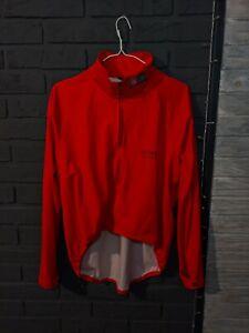 Gore Bike Wear Windstopper t  red cycling jacket mens Size Large