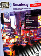 ULTIMATE PLAYALONG BROADWAY EASY PIANO AND VOICE SHEET MUSIC BOOK WITH CD