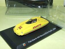 FIAT ABARTH 500 RECORD PININFARINA 1958 HACHETTE sous blister