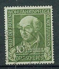 BRD Briefmarken 1949 Helfer der Menschheit Mi 118