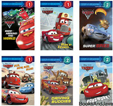 Step into Reading Cars, Level 1-2 Old, New, Red, Blue! Driving Buddies +6 Paperb