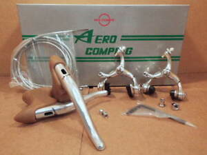 """New-Old-Stock Dia-Compe """"Aero Compe-G"""" Brake Set (Complete)...Made in Japan"""