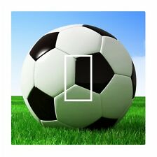 Novelty Footie Football Soccer Ball Light Switch Vinyl Sticker Cover Skin Decal