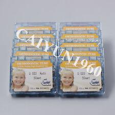UPS!! 10 boxes Ortho 1st Single Buccal Tube Roth 022 Bonding Monoblock CE&FDA