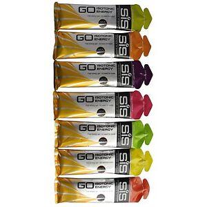SCIENCE IN SPORT SIS GO ISOTONIC ENERGY GEL VARIETY PACK - Pack of 7 gel x 60ml