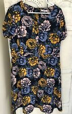 Beautiful Floral Dress Size 16 Vintage Style