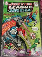Justice League of America Case of the Disabled Justice League #36 DC Comic 1965