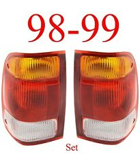 98 99 Ranger Tail Light Set, Ford, Complete Assembly, 2WD, 4WD, Both L&R Sides!!