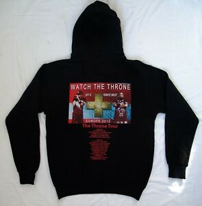 hoodie Watch the Throne Jay-Z n Kanye West Europe 2012 tour