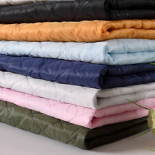 Quilted Fabric Compress Jacket Lining Padded No String Winter Warm 145cm*100cm