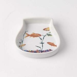 Cat Saucer Dish - In The Tank Fish Tank