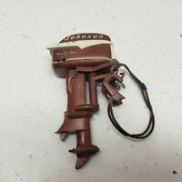 Miniature Vintage Johnson Seahorse Outboard Motor Toy Boat Model Engine