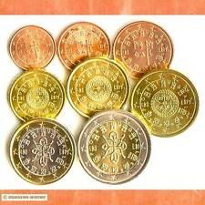 Kursmünzensatz Portugal 2002 1c-2 Euro•Münze•KMS alle 8 Münzen Satz Eurosatz Set